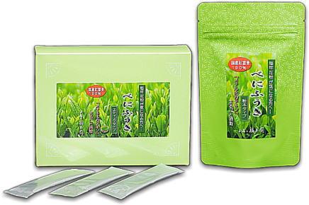 花粉症対策にべにふうき緑茶